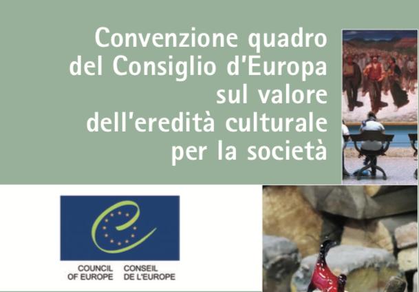 La petizione di Federculture per ratificare la Convenzione di Faro