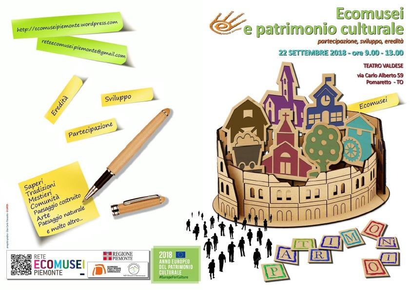 Ecomusei e patrimonio culturale. Partecipazione, sviluppo, eredità