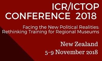 Conferenza ICR/ICTOP, 5-9 novembre 2018, Auckland and Wellington (New Zealand)
