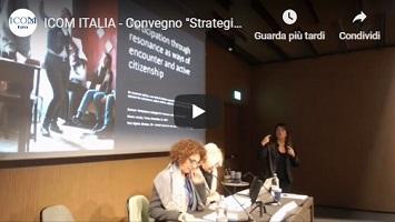 """CONVEGNO """"Strategie partecipative per i musei. Opportunità di crescita"""", 16-17 novembre 2018, Torino: le registrazioni integrali!"""