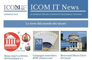 ICOM IT NEWS –  Gennaio 2019