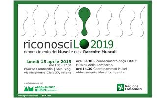 RiconosciLo! 2019 | Regione Lombardia e Abbonamento Musei Lombardia