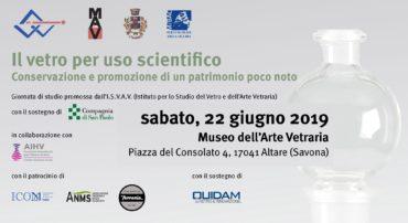 """Giornata di Studi """"Il vetro per uso scientifico. Conservazione e promozione di un patrimonio poco noto"""""""