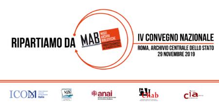 Ripartiamo da MAB | Roma, 29 novembre 2019