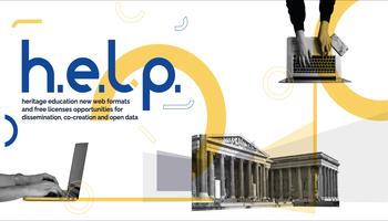 Banner con logo progetto HELP